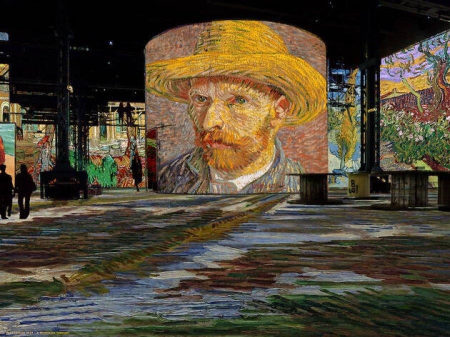 Brenda pikturave të Van Gogh në Paris