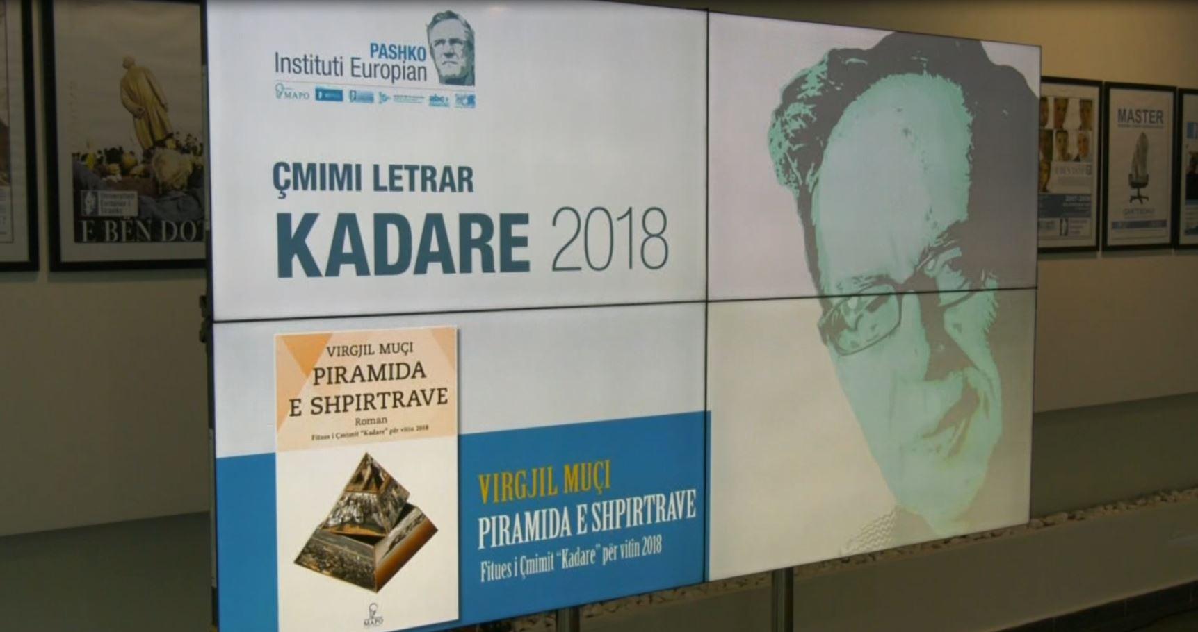 """Çmimi """"Kadare"""" hap garën për edicionin e pestë"""