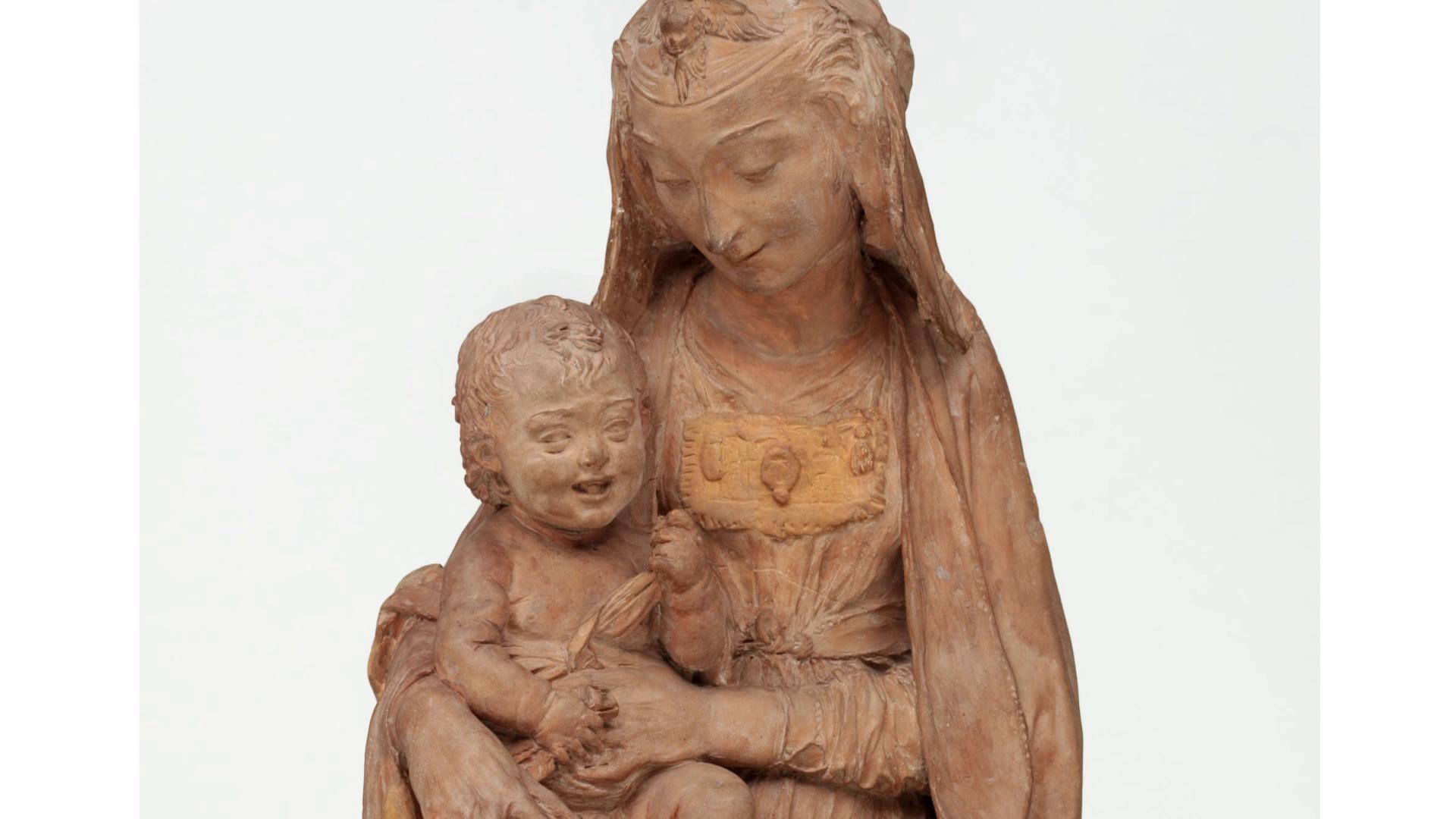 Gjendet në një galeri në Firence, skulptura e Leonardo da Vincit