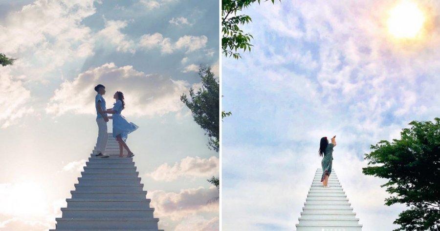 """Tani mund të bëhen foto Instagrami te """"Shkallët qiellore"""""""