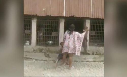 E tmerrshme: Gruaja e rrah jetimin dhe e mbyll në kafaz me qentë