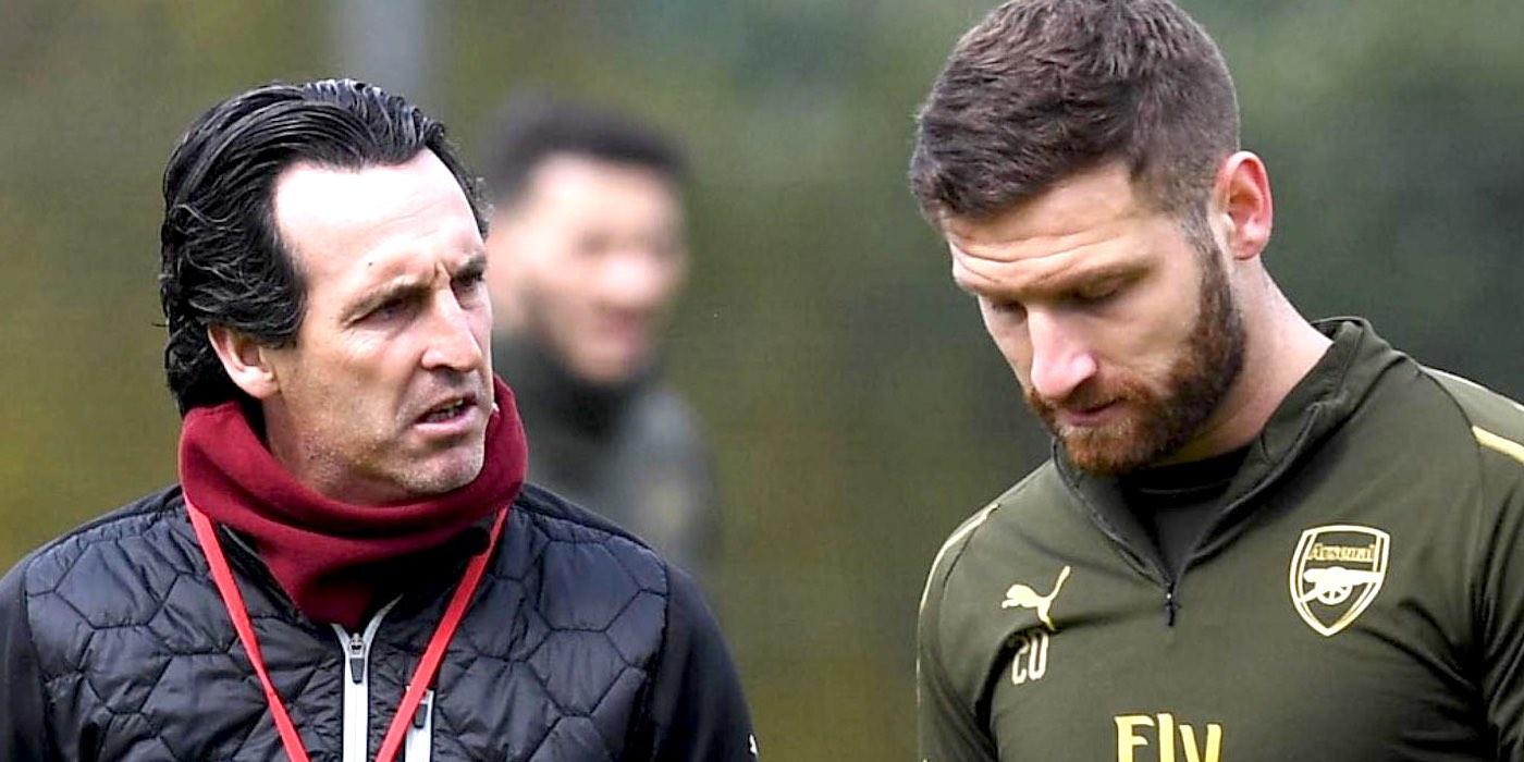 Emery: Mustafi, largohu nga Arsenal