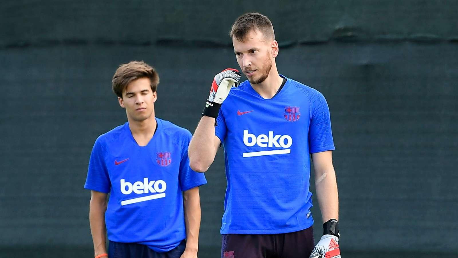 Lëndohet rënd portieri i Barcelonës