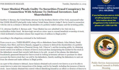 Ymer Shahini deklarohet fajtor para drejtësisë amerikane për një mashtrim disa milionësh