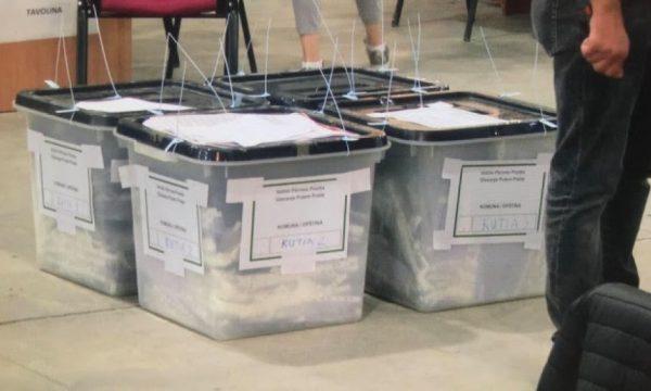 """""""Edhe 35.5 për qind të votave kanë mbetur për rinumërim"""""""
