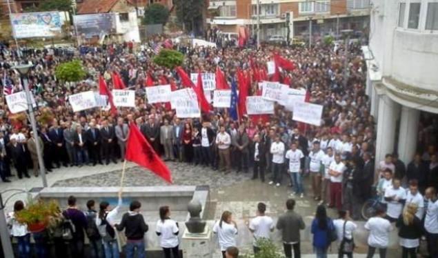 Më 28 nëntor protestohet në Preshevë