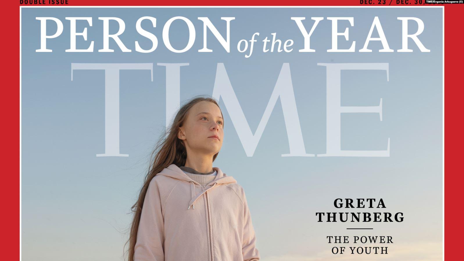 Revista Time shpall Greta Thunberg person të vitit