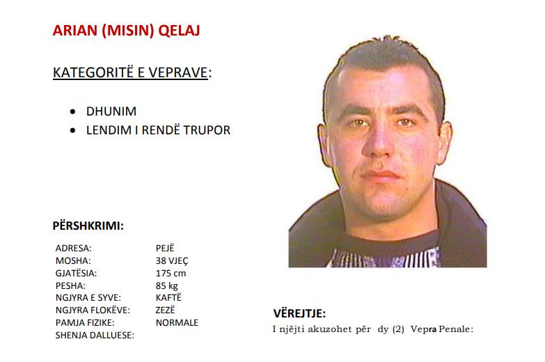 Policia e Kosovës kërkon ndihmën e qytetarëve për kapjen e këtij personi (Foto)