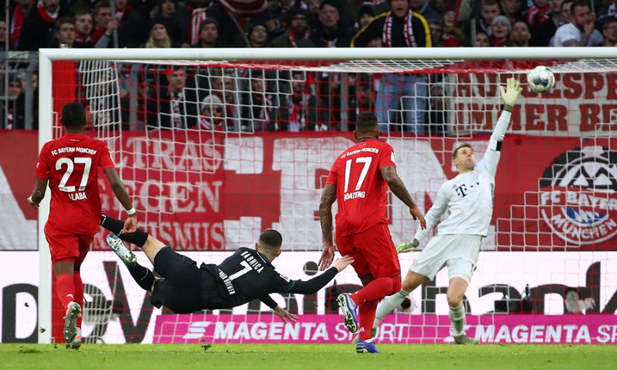 """Rashica """"bombardon"""" Bayernin"""