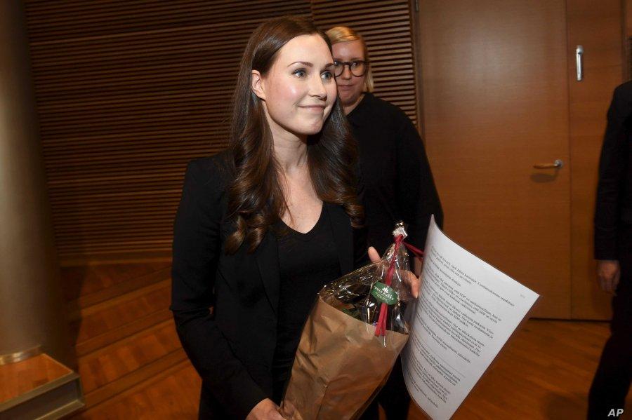 Finlanda zgjedh kryeministren më të re në histori