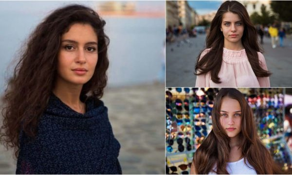 Bukuria e vajzave të thjeshta nga shtete të ndryshme të botës