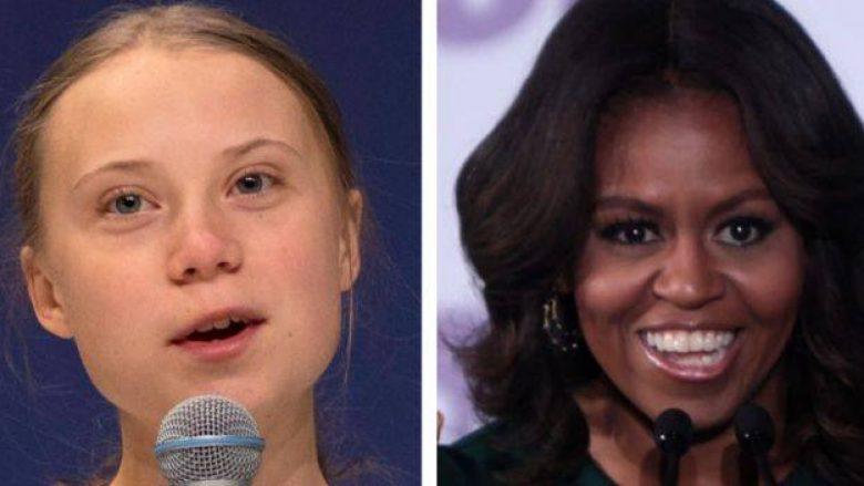 Michelle Obama i del krah Greta Thunbergut, kundër kritikave të Trump-it