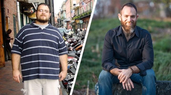 Hoqi dorë nga dietat e pavlera, ky burrë humbi 70 kg duke ndjekur këto hapa