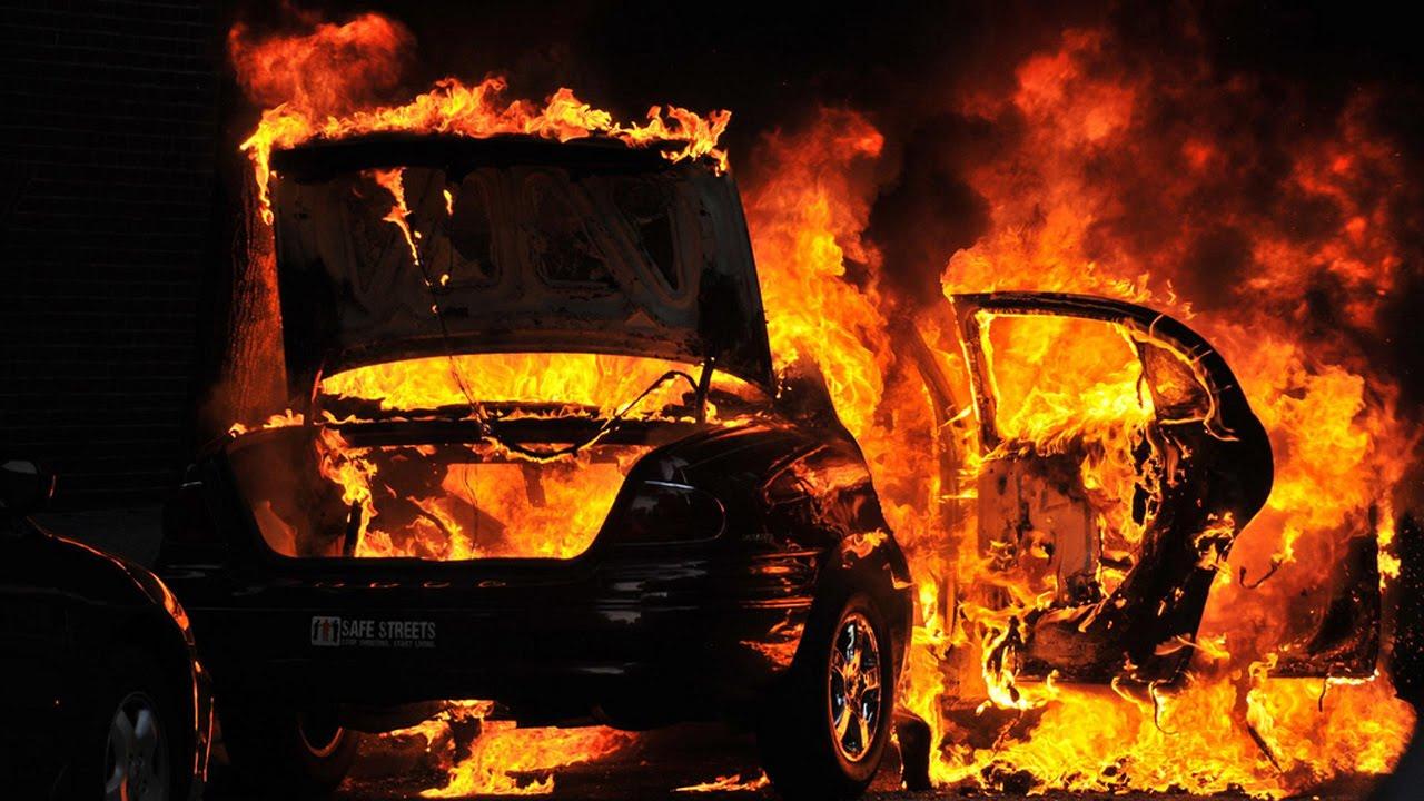 I vihet flaka një veture në Prishtinë