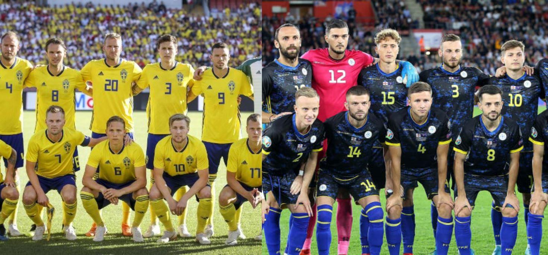 Suedia publikon listën për miqësoren ndaj Kosovës