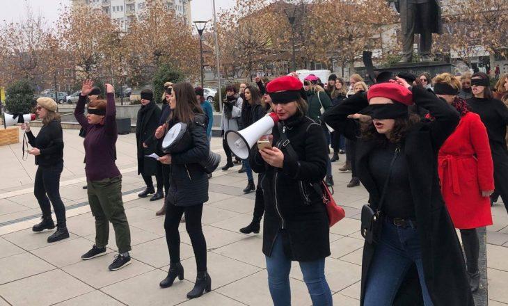 Protestë kundër dhunës ndaj grave