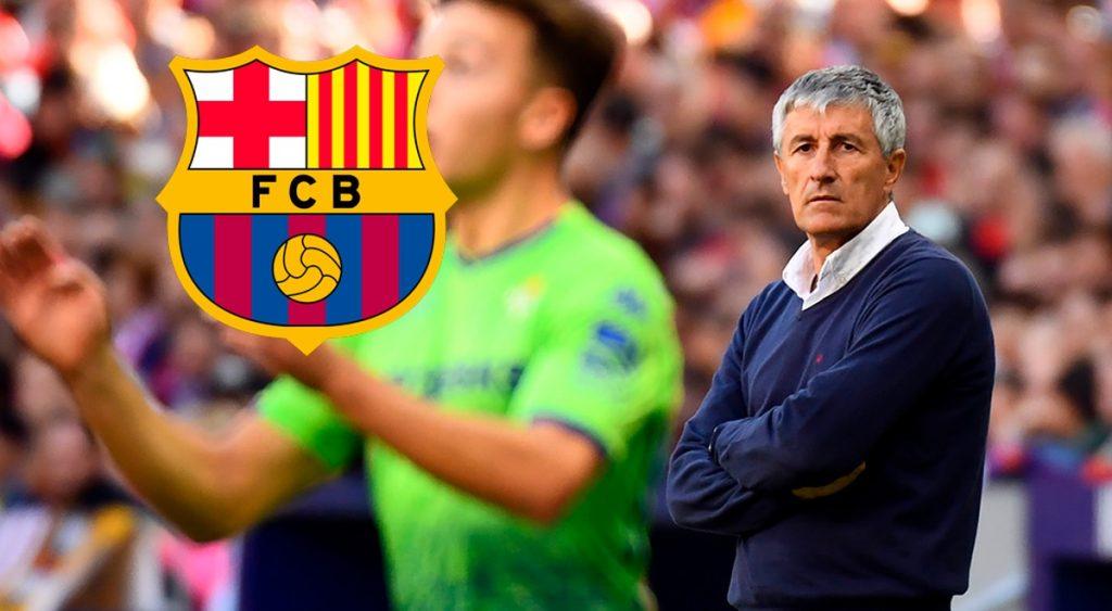 Agjenda e ditës së parë të Setien si trajner i ri i Barcelonës